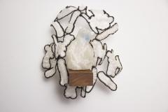 """Polar,"" 2014, wood, PLA plastic, glass"