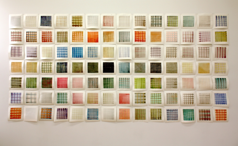 Installation View: Small Plaids