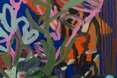 "Estefania Velez Rodriguez,  ""Chaotic Nature,"" 9 x 12,"" 2017"