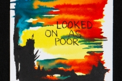 06- Senon Williams , Untitled (looked on as poor)